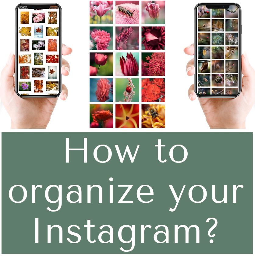 Organizing your Instagram feed – how and why?