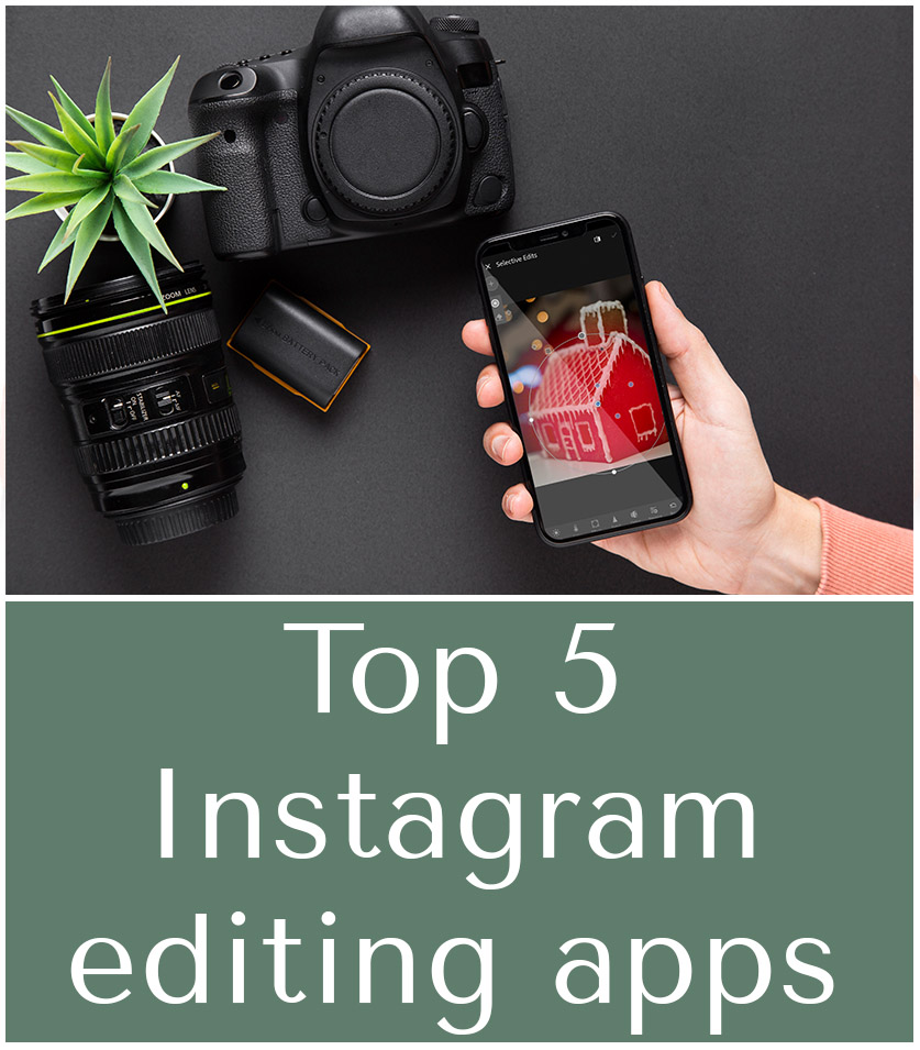 Top 5 Instagram photography editing apps I use