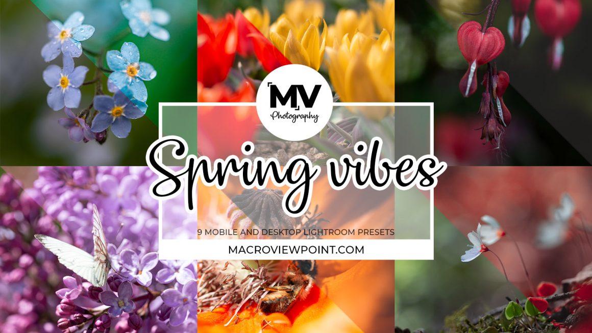 Free flower and Macro Lightroom presets for Mobile and Desktop