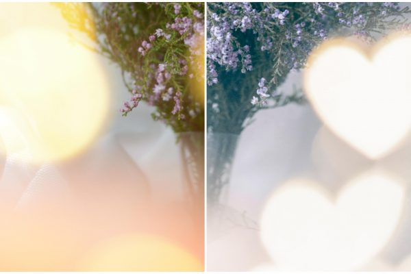 How to create heart shaped bokeh